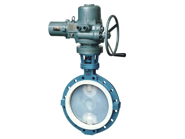 Electric Three Eccentric Metal Seal Butterfly Valve